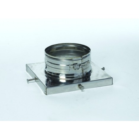 Stainless Steel Flue-Fit Top Plate