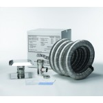 M-Flex Stainless Steel Pellet / Corn Chimney Liner Kit