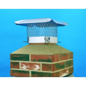 HY-C Stainless Steel Single Flue Chimney Cap