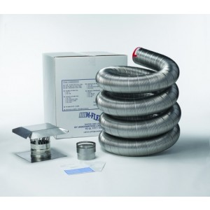 M-Flex Stainless Steel Chimney Liner Basic Insert Kit