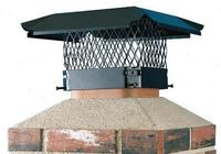 Hy-C Black Stainless Steel Chimney Cap